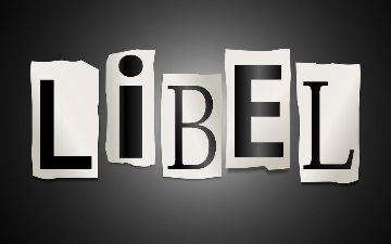 Libel Law-Pros and Cons Two libertarians debate whether libel laws are in line with the First Amendment