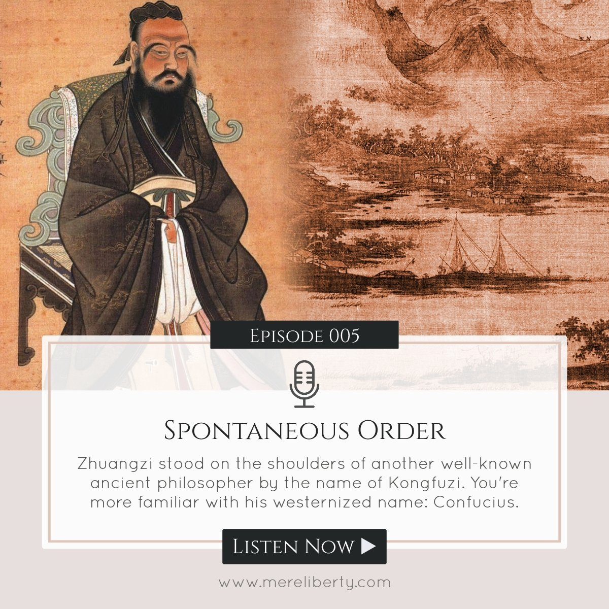 What is #SpontaneousOrder? #Confucians #Libertarianism #MereLiberty #FOL